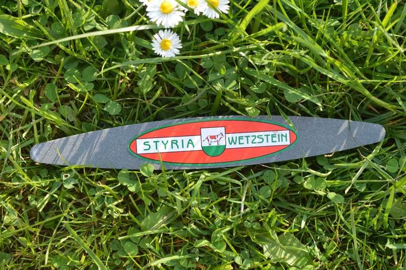 Pierre à faux artificielle à gros grain Styria kunstmatige wetsteen groffe korrel